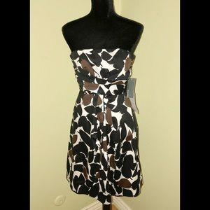 NEW DONNA RICCO New York Strapless Delphine Dress